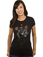 Herné tričko Tričko dámske Zaklínač - Fiend Forest (americká veľ. XXL/európska XXXL)