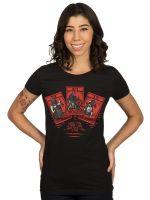 Herné tričko Tričko dámske Zaklínač - Ladies of the Wood (americká veľ. M/európska L)