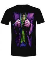 Tričko DC Comics - Joker Costume (veľkosť XXL)
