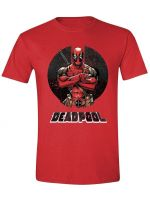 oblečení pro hráče Tričko Deadpool - Crossing Arms (velikost XL)