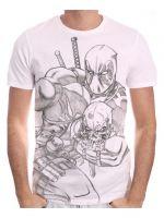 Tričko Deadpool - Sketch (veľkosť XXL)