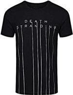 oblečení pro hráče Tričko Death Stranding - Logo (velikost L)