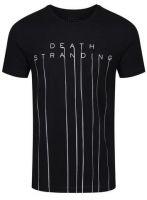 oblečení pro hráče Tričko Death Stranding - Logo (velikost M)