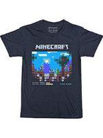 Herné oblečenie Tričko detské Minecraft - Vintage Brawler (veľkosť XL)