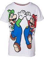 Tričko detské Super Mario - Mario and Luigi (veľkosť 134/140) (TRIKO)