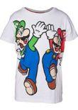 oblečení pro hráče Tričko dětské Super Mario - Mario and Luigi (velikost 146/152)