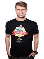 Herné tričko Tričko Fallout 76 - Vault 76 Poster (čierne, veľkosť M)