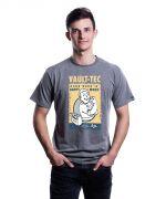 Herné oblečenie Tričko Fallout - Hard Work (veľkosť M)