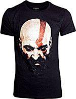 Tričko God of War - Kratos Face (veľkosť XL) (TRIKO)