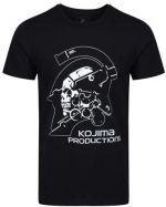 oblečení pro hráče Tričko Kojima Productions - Logo (velikost M)
