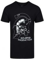 Tričko Kojima Productions - Logo (veľkosť