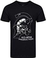 oblečení pro hráče Tričko Kojima Productions - Logo (velikost XL)