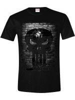 Tričko Marvel - The Punisher Bricks (veľkosť S) (TRIKO)