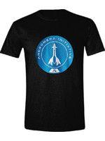 oblečení pro hráče Tričko Mass Effect - Andromeda Initiative (velikost XXL)