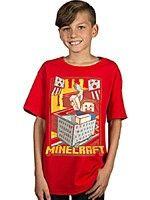 Herné tričko Tričko Minecraft - Vintage Runaway (americká detská veľ. L/európska XL)