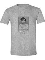 Tričko Narcos - Pablo Escobar Genius Crazy (veľkosť XL) (TRIKO)