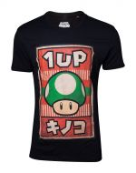 Tričko Nintendo - Propaganda Poster 1-UP Mushroom (veľkosť