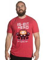 Herné oblečenie Tričko Overwatch - 16-bit Hero (americká veľ. M / európska L)