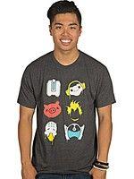 Herné tričko Tričko Overwatch - Battle Spray (americká veľ. XL / európska XXL)