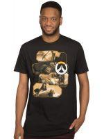 oblečení pro hráče Tričko Overwatch - Heroes and Assassins (americká vel. M/evropská L)