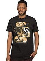oblečení pro hráče Tričko Overwatch - Heroes and Assassins (americká vel. XXL/evropská XXXL)