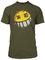 Herné oblečenie Tričko Overwatch - Junkrat Icon (americká veľ. L / európska XL)