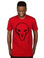 oblečení pro hráče Tričko Overwatch - Reaper Spray (americká vel. S/evropská M)