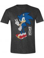 oblečení pro hráče Tričko Sonic - Victory (velikost M)