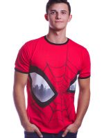 oblečení pro hráče Tričko Spider-Man - Big Eyes (velikost XL)
