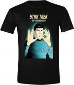 Herné oblečenie Tričko Star Trek - 50th Anniversary (veľkosť S)