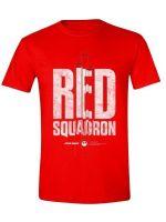 Tričko Star Wars - Red Squadron (veľkosť XL)