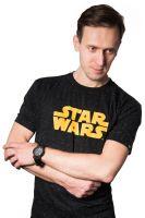 Herné tričko Tričko Star Wars - Logo (veľkosť M)