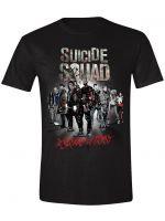oblečení pro hráče Tričko Suicide Squad - In Squad We Trust (velikost M)