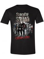 Herné oblečenie Tričko Suicide Squad - In Squad We Trust (veľkosť XXL)