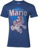 Tričko Super Mario - Super Mario Running Vintage (veľkosť S) (HRY)