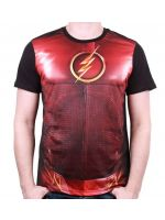 oblečení pro hráče Tričko The Flash - Costume (velikost L)