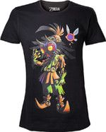 oblečení pro hráče Tričko The Legend of Zelda - Majoras Mask Skull Kid (velikost XL)