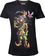 oblečení pro hráče Tričko The Legend of Zelda - Majoras Mask Skull Kid (velikost XXL)
