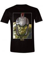 Herné oblečenie Tričko Thor: Ragnarok - Big Face Hulk (veľkosť XXL)