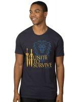 oblečení pro hráče Tričko Warcraft Movie - Unite to Survive (americká vel. M / evropská L)