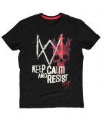 Herné oblečenie Tričko Watch Dogs: Legion - Keep Calm and Resist (veľkosť XXL)