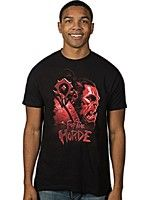 oblečení pro hráče Tričko World of Warcraft - Horde Face (americká vel. XL/evropská XXL)