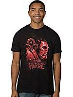Herné tričko Tričko World of Warcraft - Horde Face (americká veľ. XL/európska XXL)
