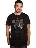 Herné tričko Tričko Zaklínač - Fiend Forest (americká veľ. XXL/európska XXXL)
