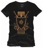 oblečení pro hráče Tričko Zaklínač - For Nilfgaard (americká vel. M/evropská L)