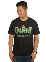 Tričko Zaklínač - Gwent Classic Logo (americká veľ. L/európska XL) (TRIKO)