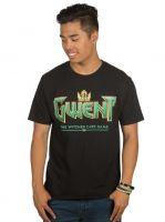 Hračka Tričko Zaklínač - Gwent Classic Logo (americká vel. M/evropská L)
