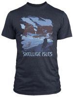 Tričko Zaklínač - See the Skellige Isles (americká veľ. L / európska XL) (TRIKO)