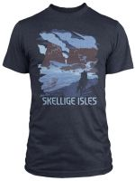 Tričko Zaklínač - See the Skellige Isles (americká veľ.