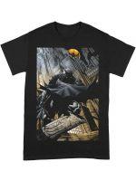Hračka Tričko Batman - Night Gotham City (velikost S)